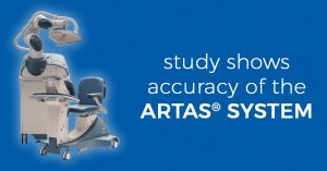 Accuracy of the ARTAS® System from Robotic Hair Restoration of Long Island