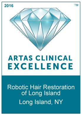 ARTAS Clinical Excellence Award