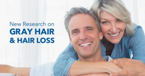 New Research on Gray Hair and Hair Loss.