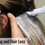 Dyeing your hair too often could lead to hair loss.