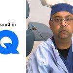 Dr. Baiju Gohil in GQ Magazine