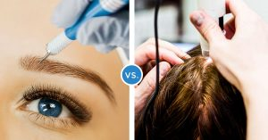Microblading vs Micropigmentation