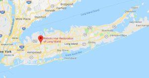 Long Island, NY Map