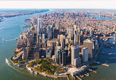 Manhattan Location in New York City