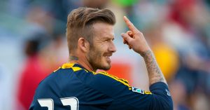 David Beckham Hair Restoration
