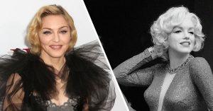 Madonna and Marilyn Monroe