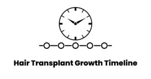 hair transplant growth timeline