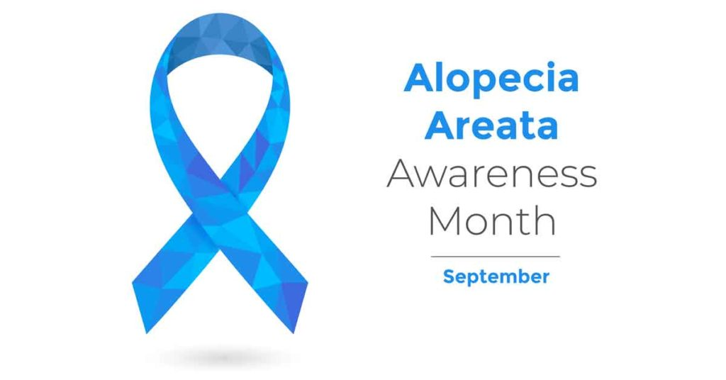 Alopecia Areata Awareness Month September