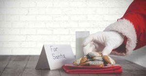 Santa Claus' Christmas diet