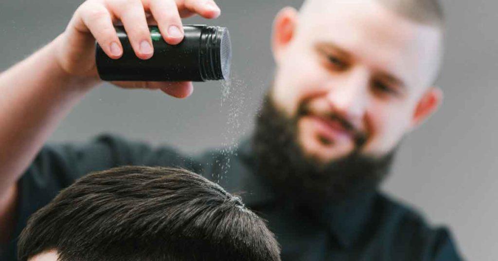 hair powder